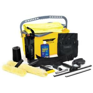 Ettore Super Starter Window Cleaning Washing Kit Squeegees & More - FREE SHIP!