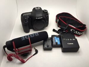 Canon 80D with Rode Go mic