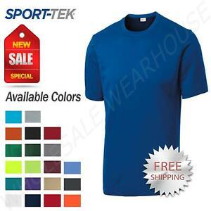 Sport Tek Men's Dri Fit PosiCharge Workout S 4XL Big Tall T Shirt M TST350 $9.73