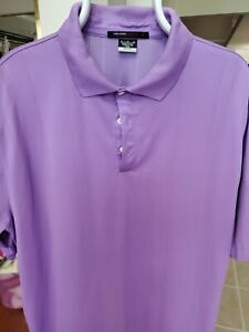Mens X Large Nike Dri Fit Tiger Woods Collection Purple Polo Golf Shirt (21)