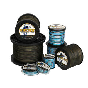 Hercules Blue Camouflage Moss Camo Braided Fishing Line 300M 1000M 4 8 Strands