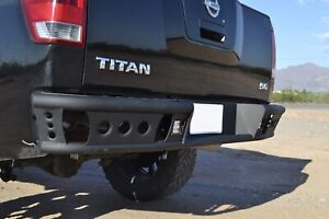 Addictive Desert Designs R9022912801NA Dimple R Rear Bumper Fits 04-15 Titan
