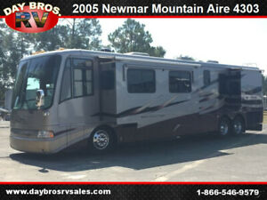 05 Newmar Mountain Aire 4303 Motorhome RV Coach Camper Diesel 4 Slides Sleeps 6