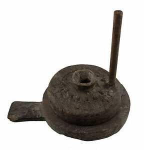 Antique Mill in Spices Wooden Tikka Cafe India Vintage 8922 - CLO9