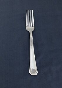 GORHAM stainless FAIRVIEW, 1 dinner fork, Bright & Shiny LotAe2