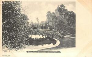 Singleton Court, Los Angeles, CA c1900s Antique M. Rieder Rare Vintage Postcard