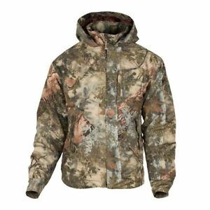 King's Camo Classic Cotton Insulated Hooded Ripstop Jacket Mountain KCB125-MS