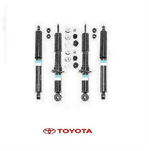 2003- 2009 Genuine Toyota 4Runner Front Struts & Rear Shocks Strut Set OEM OE