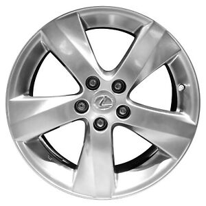 74241 Reconditioned 18X8 Alloy FRONT Wheel Smoked Hypersilver Full Face Painted