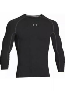 Under Armour Men's HeatGear Armour Long Sleeve Compression Shirt 3XLT 1257471