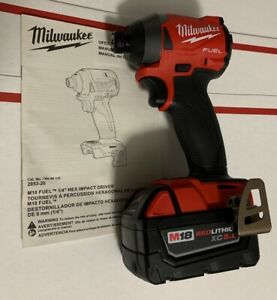 Milwaukee 2853-20 FUEL M18 18 Brushless 1/4