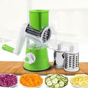 Potato Cheese Slicer Cutter Stainless Steel Vegetable Grater Manual Kitchen Tool