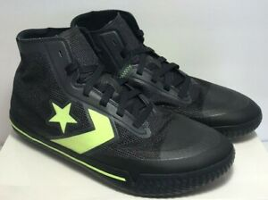 Converse Mens Size 10 All Star Pro BB Hyperbright Black High Top RARE 165542C