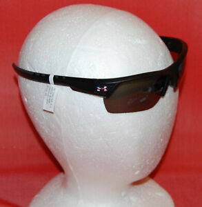 NWT Under Armour Igniter 2.0 Satin Black Sunglasses $104.99 with USA flag color $49.99