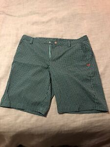 Mens Under Armour Golf HeatGear Loose Athletic Golf Shorts Size 38