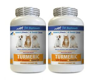 dog anxiety help DOG CAT COCONUT amp; TURMERIC coconut oil for dogs eat 2B