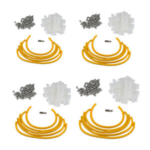 Mounting Clips for Rope Light 100 PackS Plastic Decorating Outdoor Christmas