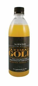 """ULTIMATE GOLD DETOXâ""""¢ 16oz DRINK Works in One Hour DetoxifyCleans Impurities $16.95"""