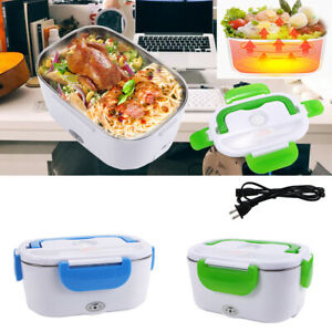 Quality Portable Electric Heating Lunch Box Heater Stainless Steel Food trunk US