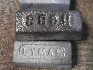 HARD CLEAN LEAD for casting BULLETS 100# ********SPECIAL PRICE ********