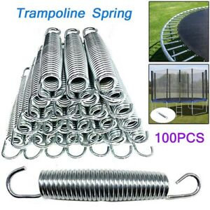 100pcsset 5.5 inch Trampoline Springs Heavy-Duty Galvanized Replacement Springs