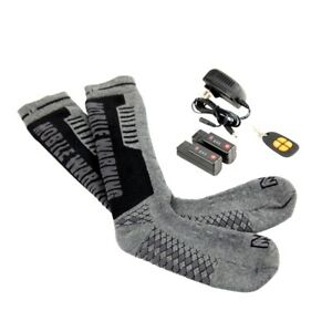 NEW Mobile Warming MW18A03-M4-10 SIZE 4-10 Heated Socks Lithium Battery 3995586