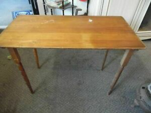 Antique Sewing Collapsible Table $134.99