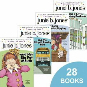 Complete Junie B. Jones Collection- NEW Sealed-books 1-28- Barbara Park