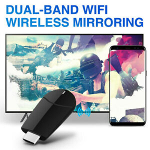 Wireless Dongle Display Receiver 4K HDMI Media Streamer for AndroidApple HD US