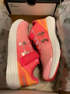 Under Armour SURGE Prism 3021175-601 Pink Sticking Strap Running Shoes 13K