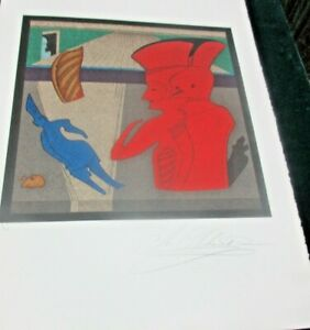 MIHAIL CHEMIAKIN quot; WAX MARSHALL quot; SIGNED LITHOGRAPH $1400.00
