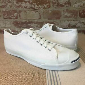 Vintage CONVERSE Jack Purcell Low Top Sneaker Shoes Men 10.5 Made in USA IRR