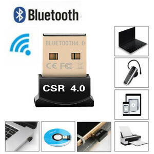 USB Bluetooth Adapter Dongle Dual Mode Receiver for Windows 1087XP V4.0