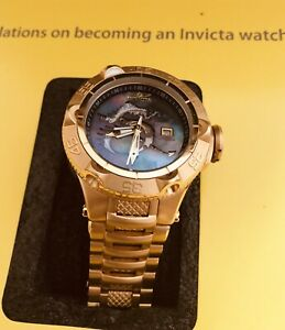 Invicta Gold Watch Limited Edition Project Abda Subaqua Noma V Swiss Movement