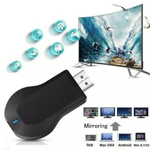 US AnyCast Miracast Streamer HDMI Media Display Airplay Wifi Receiver Dongle TV