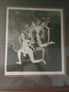 David Stein Famous Art Forger Artist Proof Nude $1000.00