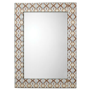 Jamie Young Company Kaleidoscope Light Gray Blue  Mirror - 7KALE-MILI