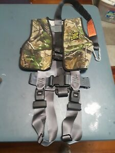 Hunter Safety System Lil  Stalker Safety Vest HSS8 YOUTH  50 TO 120 LBS CAMO