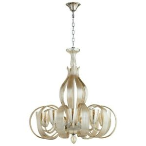 Cyan Design Lucille Ten Light Chandelier Chrome - 06437