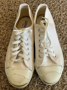 Vintage Converse Jack Purcell 70's80's MADE IN USA Sneakers Size 5.5 Women's 7