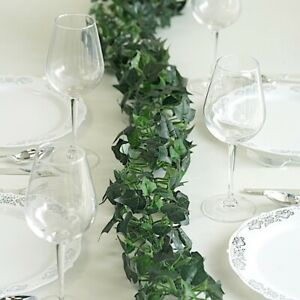 6 feet Green Ivy 3D Chain Artificial Greenery Garland Wedding Party Decorations