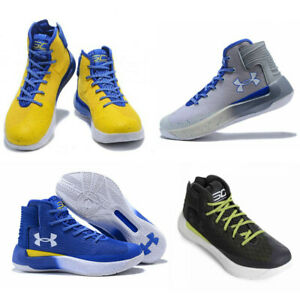 UNDER ARMOUR Curry 3 Men Basketball Shoes SELECT SIZE & COLOR