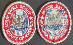Boy Scout Eagle Rank Pocket Patch Current Issue Type 13 A3 Mint BSA