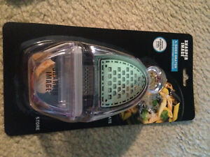 Sharper Image 4-sided Grater with Storage Container Cheese Grater