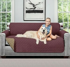 Waterproof Quilted Sofa Covers For Pets Kids Furniture ProtectorLarge/freeship