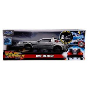 Jada Hollywood Rides: Back to the Future II Time Machine w Light 1 24 Scale