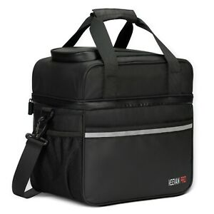 24 Cans Large Insulated Cooler Bag 20L Leakproof Soft Cooler Tote for Men Women