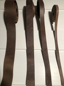 Saddle Oil Tan Leather Straps