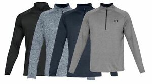 Under Armour Mens UA Tech 2.0 1 2 Quarter Zip Sleeve Shirt FREE SHIP 1328495 $33.99