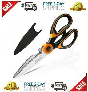 Kitchen Shears Professional Pampered Chef Stainless Scissors Vegetable Meat Nut